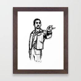 The Jesus Framed Art Print