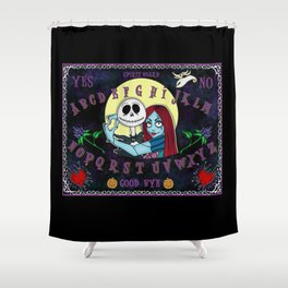Nightmare Spirit Board Shower Curtain
