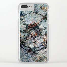 iDeal - Chaos Theory - Slate Clear iPhone Case