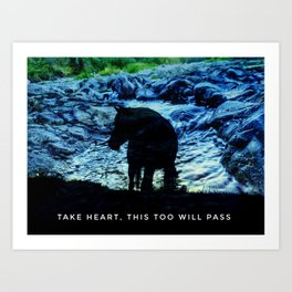This Too Will Pass Art Print