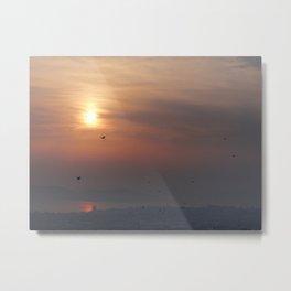 soft sky Metal Print