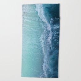 Turquoise Sea Beach Towel