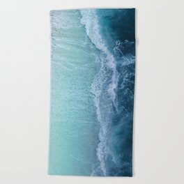 Turquoise Sea Beach Towel
