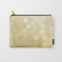 Bokeh Series - Gold Dust Carry-All Pouch