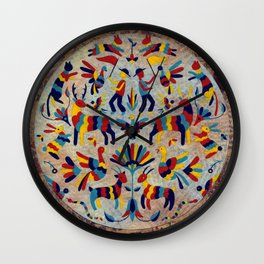 Otomi Party Wall Clock