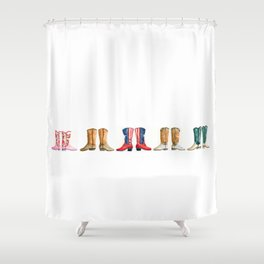 boots Shower Curtain