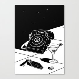 Tranquility Base Hotel + Casino Canvas Print