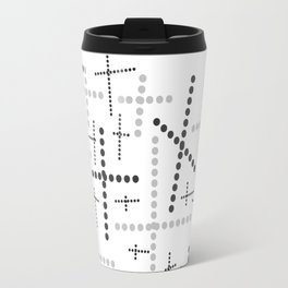Croisement gris Travel Mug