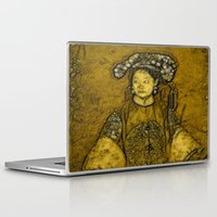 bride Laptop & iPad Skins featuring Manchurian Bride by Lucia
