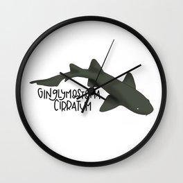 Caribbean Nurse Shark Wall Clock