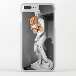 La venere con l'orsachiotto Clear iPhone Case