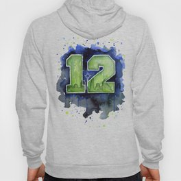 Seattle 12th Man Art Hoody