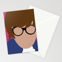Austin Powers Stationery Cards