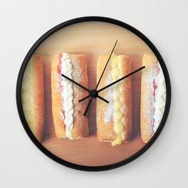 Finger Doughnuts Wall Clock