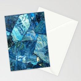 Labradorite Blue Stationery Cards
