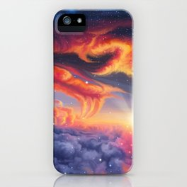 Eternal shining iPhone Case