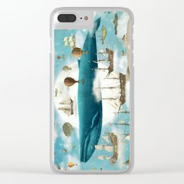 Ocean Meets Sky - book cover Clear iPhone Case