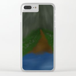 Soft Meadow Clear iPhone Case