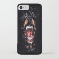 givenchy iPhone & iPod Cases featuring Givenchy Dog by I Love Decor