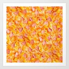 Pineapple Pizzas are People Too. Art Print