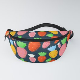 Carrots not only for bunnies - seamless pattern Fanny Pack