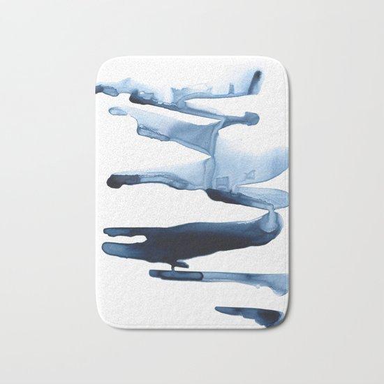 Abstract Indigo no. 2 Bath Mat