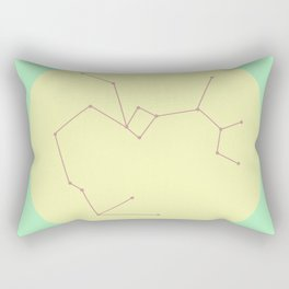 SAGITTARIUS (PASTEL DESIGN) Rectangular Pillow