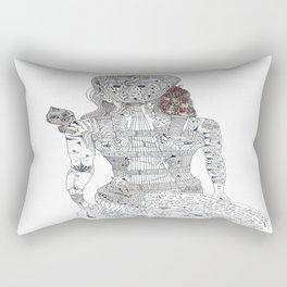 F. Kahlo Rectangular Pillow