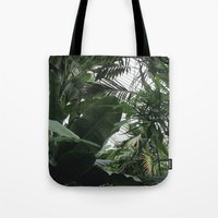 plants Tote Bags featuring Plants by Cynthia del Rio