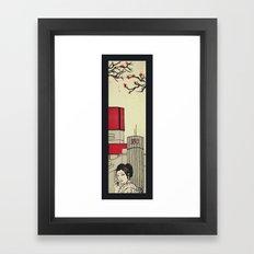 Moshi Moshi Framed Art Print