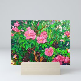 View of Rosa Rugosas (Moje Hammarberg) Mini Art Print