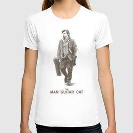 The Man Guitar Cat T-shirt