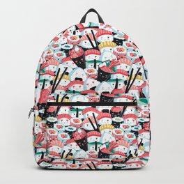 Kawaii Sushi Crowd Backpack