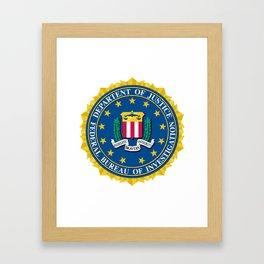 FBI Seal Framed Art Print