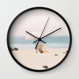 Beach Morning II Wall Clock