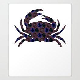 Crab 22 Art Print