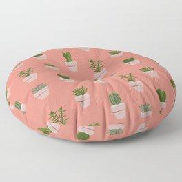 Cacti & Succulents Floor Pillow