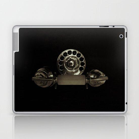 Old rotary dial phone Laptop & iPad Skin