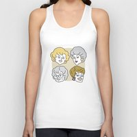 golden girls Tank Tops featuring Thank You for Being a Friend (Golden Girls) by Marcelo Galvao