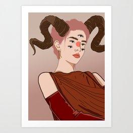 Alouqua Art Print