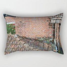 NEPALI BRICKS AND ROOFS Rectangular Pillow