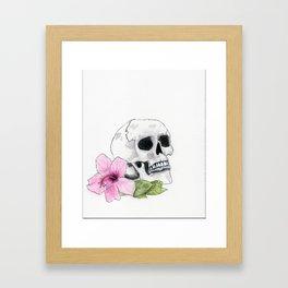 Muerte y Vida Framed Art Print