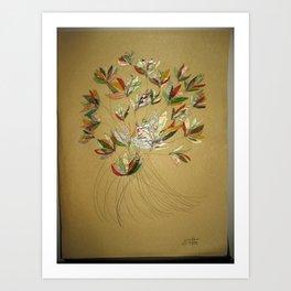 Jewel in the Flower Art Print