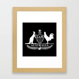 Galo Australia Framed Art Print