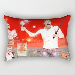 SquaRed:Converse Rectangular Pillow
