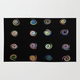 Pinwheels (Glass Series) Rug