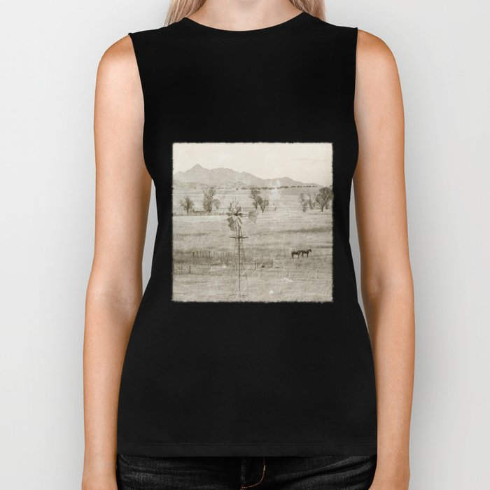 """Vintage Valley"" by Murray Bolesta! Biker Tank"