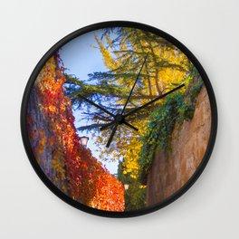 Zamora no Outono Wall Clock