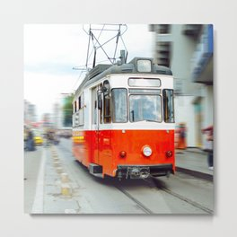 Tramway in Istanbul Metal Print