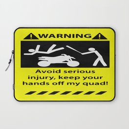Quad Warning Laptop Sleeve